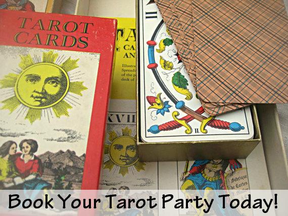 Hire Tarot Party NYC, Tarot Reader,